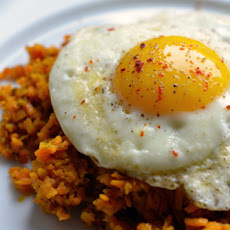 Sweet Potato Hash (with Fried Eggs!)
