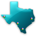 Texas Fishing Maps - 20K Maps icon