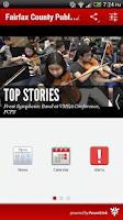 Screenshot of Fairfax County Public Schools