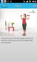 Screenshot of Ladies' Arm Workout FREE