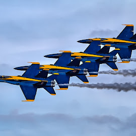Tight Formation by Ron Meyers - Transportation Airplanes