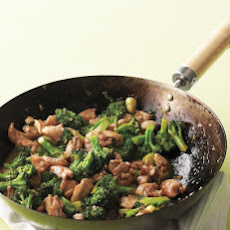 Chicken-and-Broccoli Stir-Fry