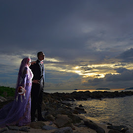 Just You&Me by Mohd daniel ramadhan Abdullah - Wedding Bride & Groom
