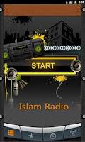 Screenshot of Islam Radio