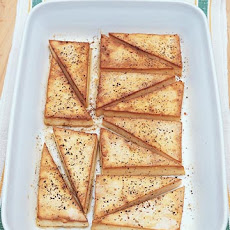 Broiled Black-Pepper Tofu Recipe