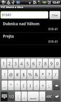 Screenshot of PSČ Slovenské Mestá (PSC)