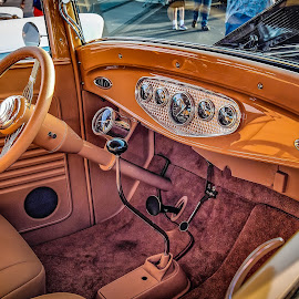 Classic Interior by Ron Meyers - Transportation Automobiles ( 2014 tulsa auto club 9-2-2014 )