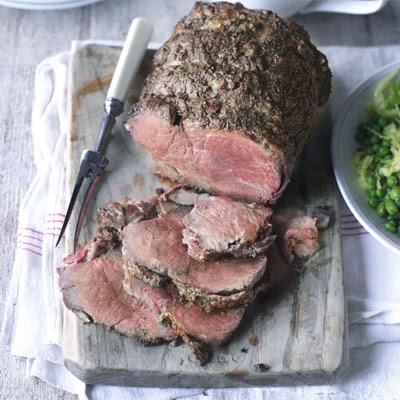 Roast Beef With Caramelised Onion Gravy
