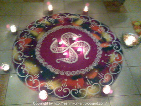 Diwali+rangoli+designs+with+flowers+2010
