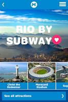 Screenshot of MetroRio – Official Rio Subway