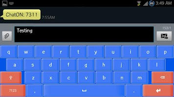 Screenshot of XP Smart Keyboard HD skin