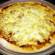 Smoky Barbecue (Bbq) Chicken Pizza