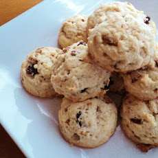 Raisin-Sunflower Seed-Vanilla-Cookies