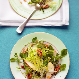 Watercress, Frisee, and Pear Salad