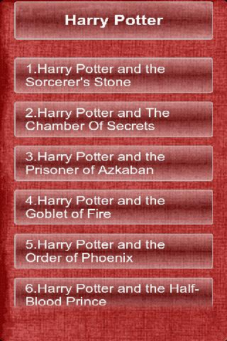 harry-potter-7-in-1 for android screenshot