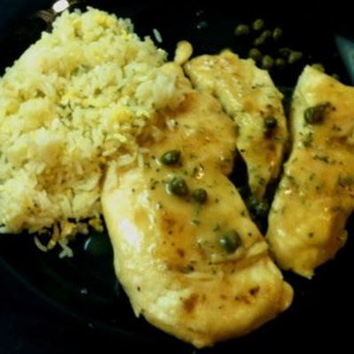Chicken in Lemon Caper Sauce