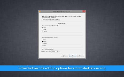 Barcode Reader Pro - screenshot