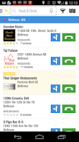 Screenshot of Yellow Pages Local Search
