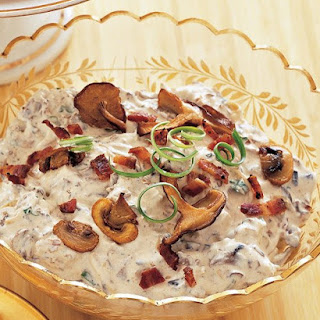 Mushroom-and-Bacon Dip