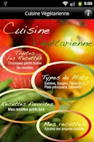 Screenshot of iCuisine Végétarienne