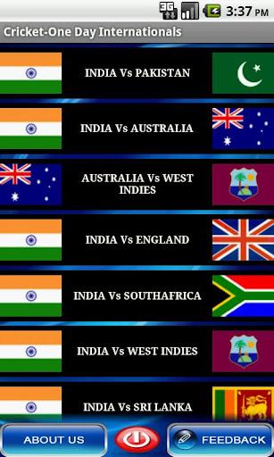 Cricket-One Day Internationals