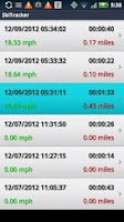 Screenshot of Run Tracker by 30 South