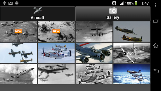 App WWII - Fighters & Bombers APK for Windows Phone
