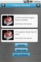 Screenshot of The Landlord App