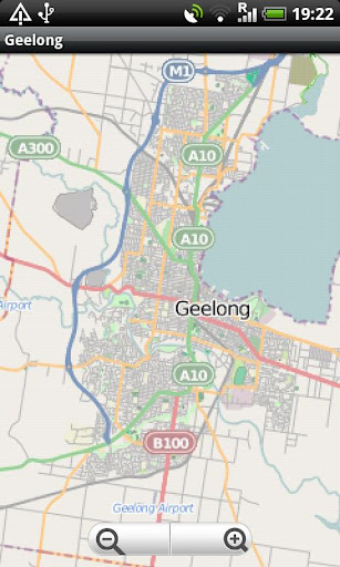 Geelong Great Otway NP Map