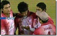 Sreesanth crying because of Harbhajan's slap