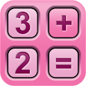 CoolCalc-Pink/CarbonFiber icon