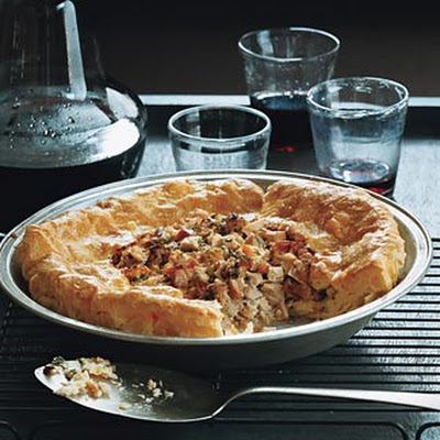 Turkey Cream Puff Pie
