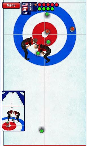 Curling3D - screenshot
