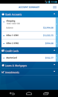 Screenshot of BMO Mobile Banking