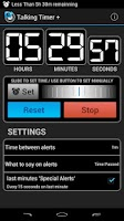 Screenshot of Talking Timer +