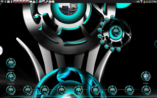 Screenshot of Next Launcher theme Twister C