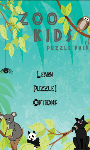 Zoo Kids: Puzzle Pack I