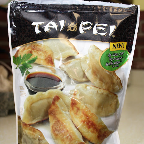 Oriental Dipping Sauce with Potstickers
