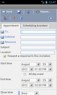 Screenshots  OWM for Outlook OWA Web Email
