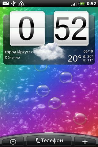Soap bubbles LiveWallpaper