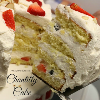 Chantilly Cake Recipes