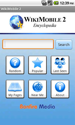 WikiMobile 2 百科事典