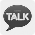 카카오톡 테마 - 블랙 테마 icon