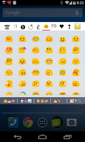 Screenshot of Cool Symbols Emoji Emoticon