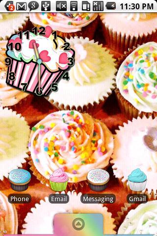 Cupcake Theme HD