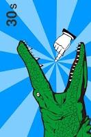 Screenshot of Mouth of alligator