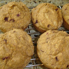 Super Easy Orange Cranberry Bran Muffins