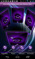 Screenshot of Next 3D Theme Purple Twister