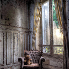 When the end comes all that will be left is us AI by Louis Eveleign - Buildings & Architecture Decaying & Abandoned