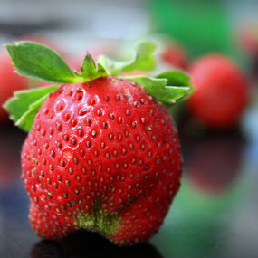 Strawberries are good for your health.... by Sowmya Beena - Food & Drink Fruits & Vegetables